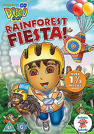 Go Diego Go - Rainforest Fiesta (DVD, 2012) • 0.99£