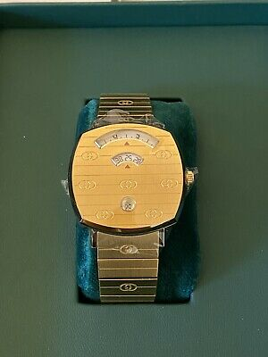 AU2250 • Buy Gold Gucci Grip Watch