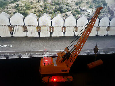 RC Construction Excavator Digger Crane Radio Remote Control MUSIC & LIGHTS  • 24.99£