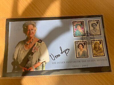 £19.50 • Buy Vera Lynn Signed First Day Cover