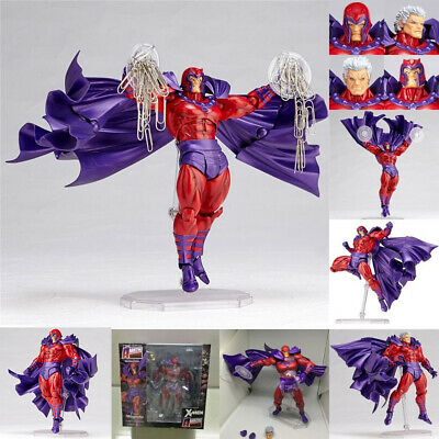 X-Man Magneto Marvel Kids Toy Movie Super Hero Collection Model Action Figure • 30.49£