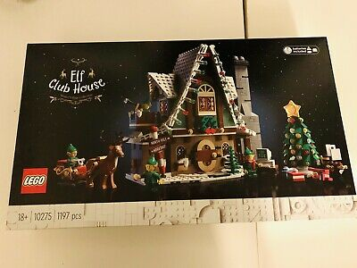 LEGO 10275 Winter Village - ELF Club House New & Factory Sealed • 110£