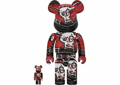 $299.99 • Buy JEAN-MICHEL BASQUIAT 400% 100% #5 Bearbrick Be@rbrick Medicom 2020 IN HAND US