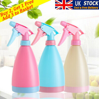 500mL Empty Spray Bottle Plants Plastic Watering Hairdressing Tool Candy Color • 3.99£