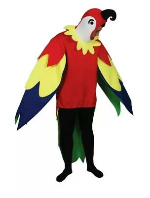 Adults Giant Polly  Parrot Bird Funny Fancy Dress Up Party Costume One Size • 17.50£