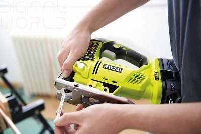 Ryobi R18JS-0 ONE+ Jigsaw With LED, 18 V (Body Only) - Green/Grey  • 241.99£