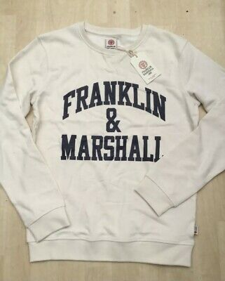 New Franklin & Marshall Jnr Age 14-15 Years Light Sweatshirt / Tracksuit Top • 11.95£