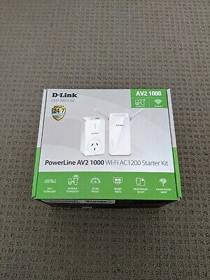 AU180 • Buy D-Link DHP-W611AV Powerline AV2 1000 WiFi Starter Kit