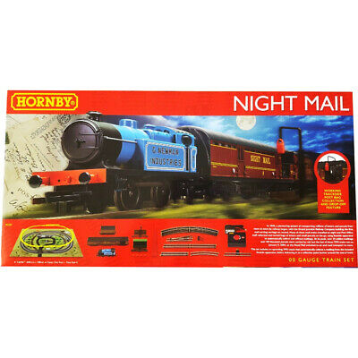 £122.49 • Buy Hornby Royal Mail Night Mail Analogue Train Set Steam Locomotive 1:76 Scale OO