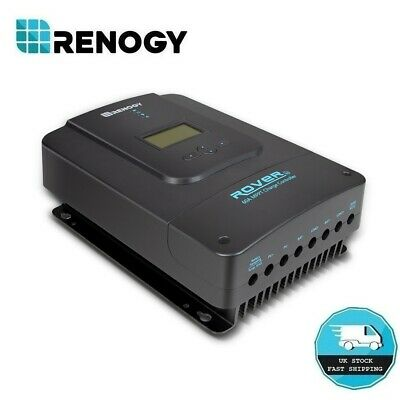 Renogy Rover 60A Amp MPPT Solar Charge Controller 12/24/36/48V Battery Regulator • 239.99£
