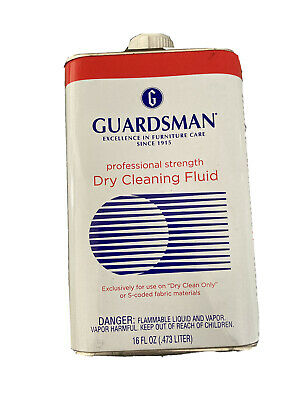 NEW Very Hard To Find 32 OZ Guardsman Dry Cleaning Fluid Professional Strength • 32.92£