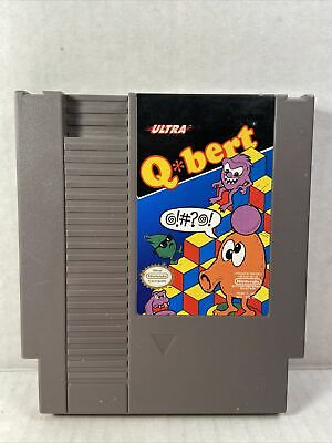 $ CDN15.21 • Buy Qbert (Nintendo Entertainment System, 1989)