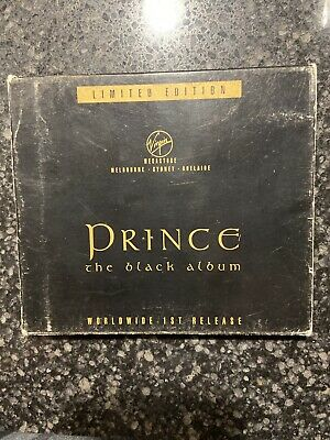 Prince The Black Album  Cd Number 518 Australia Release Worldwide 1st Release • 58.14£
