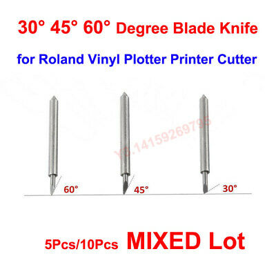 AU11.91 • Buy 30° 45° 60° Degree Blade Knife MIXED Lot For Roland Vinyl Plotter Printer Cutter