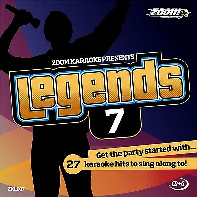 £4.85 • Buy Zoom Karaoke Legends 7 (ZKL007) CD+G Disc- 27 Hits From The 60s, Ft The Beatles