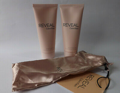 Calvin Klein Reveal Body Lotion 100ml In Pouch X 2 • 10.49£