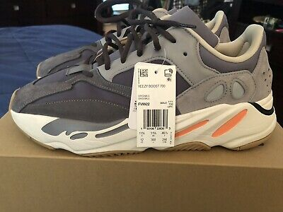 $ CDN487.22 • Buy Adidas Yeezy 700 Magnet. Size 12 100% AUTHENTIC! Oreo Clay Inertia Wave Runner
