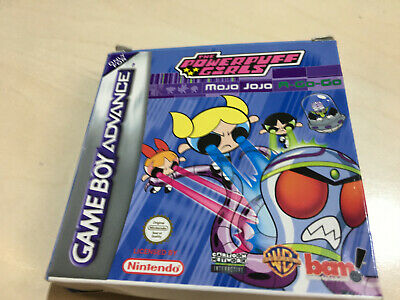 POWERPUFF GIRLS For The GAME BOY ADVANCE Box Only • 6.99£