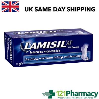 £4.98 • Buy Lamisil At 1% Cream 7.5g -   Athlete's Foot   Ringworm   Jock Itch   Soothing  