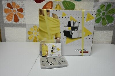 $499 • Buy Bernette B44 Funlock Overlock Serger New W/warranty. AUTHORIZED DEALER