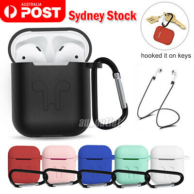 AU5.95 • Buy 3IN1 Shockproof For Airpods Case Cover Skin Anti Lost Strap Holder Airpod Case 1