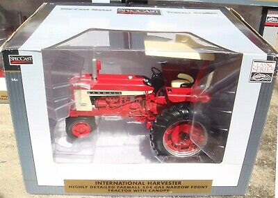 AU85.14 • Buy SpecCast 1/16 International Harvester Farmall 504 Gas NF And Canopy ZJD1739