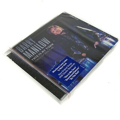 (Sealed) BARRY MANILOW  This Is My Town  Songs Of New York (CD)  • 5.34£