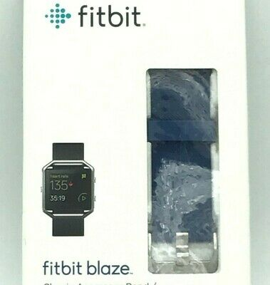 $ CDN34.09 • Buy FITBIT Blaze Classic Accessory Band Large NEW In BOX Sealed Nickel Clasp Blue
