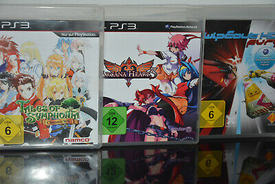£34.42 • Buy 3 X PS3 Spiele - Tales Of Symphonia & Arcana Heart 3 & Wipeout HD Fury - Kinder