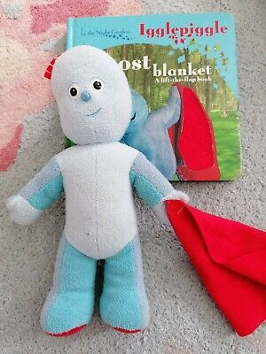 In The Night Garden Iggle Piggle Talking Singing Musical Toy Doll Free Book • 9.99£