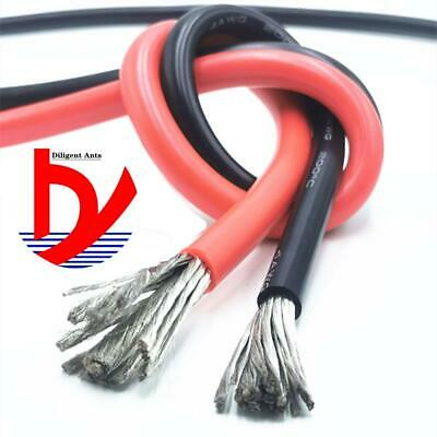 AU22.07 • Buy Wire Cable Soft Silicone Wire 11AWG 10AWG 9AWG 8AWG 7AWG 6AWG 4AWG 35mm 50mm
