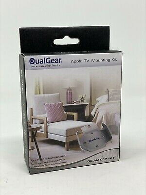 AU12.92 • Buy QualGear Apple TV Mount For Wall Hanging Flat Panel TV's