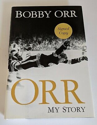 AU97.85 • Buy Bobby Orr Signed Orr My Story 1st Edition 2013 Hardcover Book New