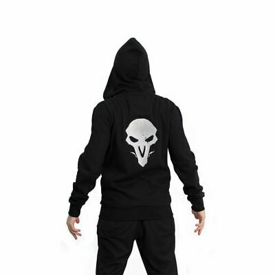 AU84.52 • Buy Overwatch Reaper Hero Hooded Zip Male Smll Black/red (chm002ow-s)