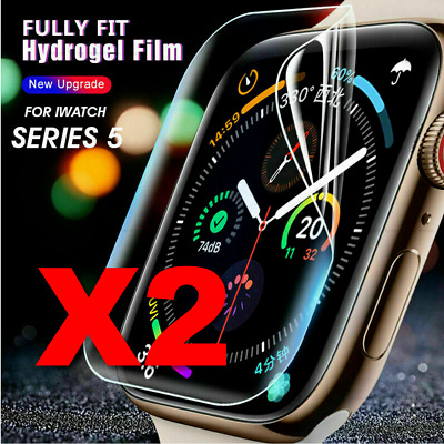 $ CDN5.03 • Buy For IWatch Series 1 2 3 4 5 6 Apple Watch Screen Protector Hydrogel Film Cover