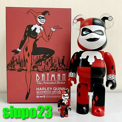 $143.99 • Buy Medicom 400% + 100% Bearbrick ~ Harley Quinn Be@rbrick Batman Animated Series Ve