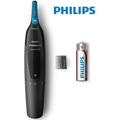 AU19.95 • Buy Philips Nose Hair Grooming Kit Eyebrow Ear Facial Hair Groomer Battery Operated