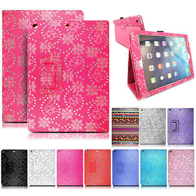 £3.99 • Buy Leather Bling Glitter Flip Smart Case Cover For IPad 234 IPad Mini 123 Air 9.7