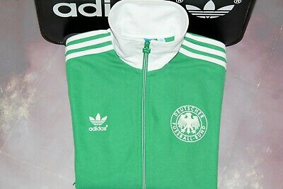 Adidas Originals Retro Vintage West Germany W.c.1986 Tracksuit Top,jacket:small • 85£