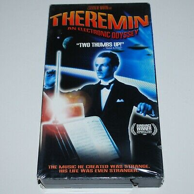 AU10.93 • Buy Theremin An Electronic Odyssey VHS 1993 Documentary 1 Hr 23 Min Robert Moog