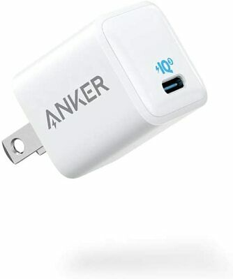 AU33.52 • Buy Anker Nano IPhone Charger, 20W PIQ 3.0 Durable Compact Fast Charger, PowerPort I