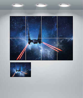 Star Wars Command Space Shuttle Giant Wall Art Poster Print • 9.50£