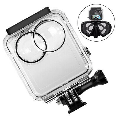 AU76.08 • Buy For Gopro-Max 360 Panoramic Camera Waterproof Protective Case Diving Access BR