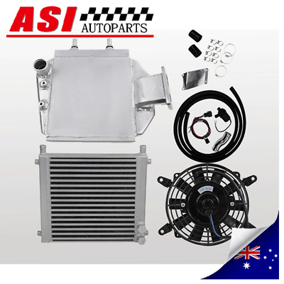 AU749 • Buy Water To Air Intercooler Kit For Landcruiser 80 100 Series HZJ80 HDJ80 1HD-T/1HZ