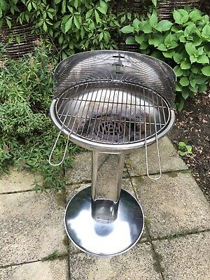 Barbecue Charcoal Stainless Steel Grill Quick Start & Easy Clean BBQ • 45£