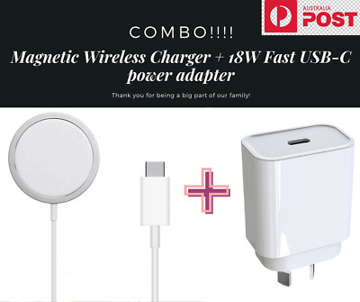 AU17.50 • Buy Magsafe Charger For Apple IPhone 12 Pro Max Mini Wilress Magnetic