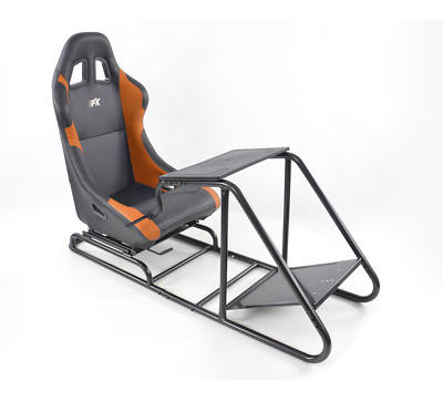Racing Simulator Chair Rally WRC F1 Race Gaming Frame Seat PC PS4 Xbox FREE P&P • 334.99£
