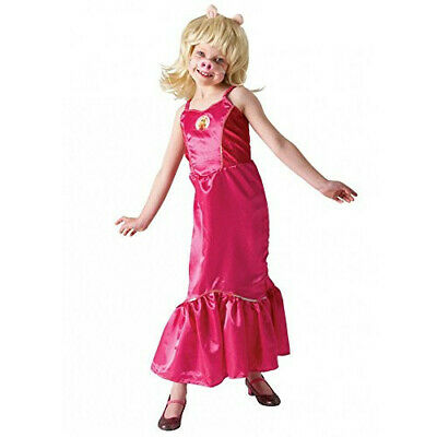 £9.99 • Buy Rubie's Official Disney Muppets Girls Deluxe Miss Piggy Costume For 3-4 Years