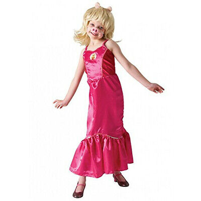 £9.90 • Buy Rubie's Official Disney Muppets Deluxe Miss Piggy Costume - Medium, 5-6 Years