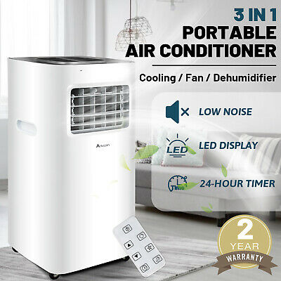 AU299.90 • Buy 3in1 Portable Air Conditioner Cooling Mobile Fan Cooler Dehumidifier 9000 BTU